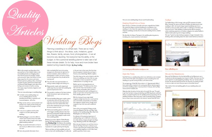 irish wedding magazine