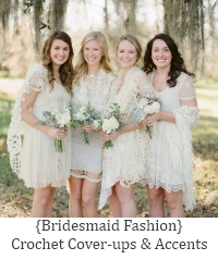 crochet bridesmaid