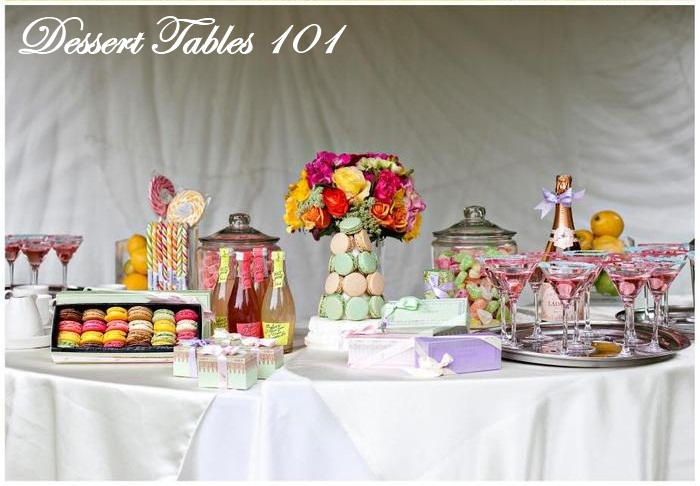 Wedding How To The Dessert Buffet And Candy Table