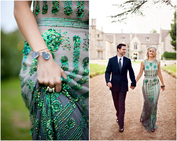green jenny packham joy dress