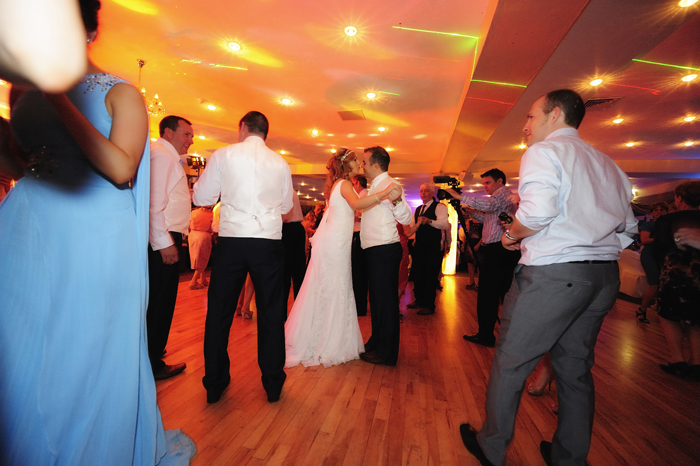 A Blue Sky Wedding At The Armada Hotel By Michael Dillon