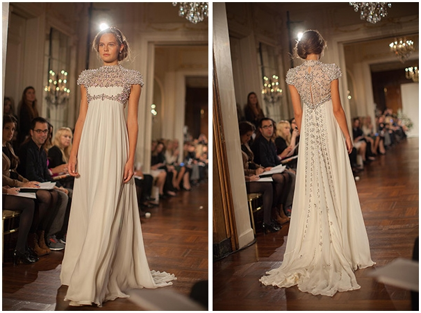 New york fashion week jenny packham bridal 2013 weddingsonline jenny packham rapunzel junglespirit
