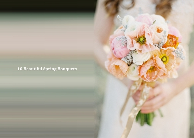 Spring wedding bouquet image