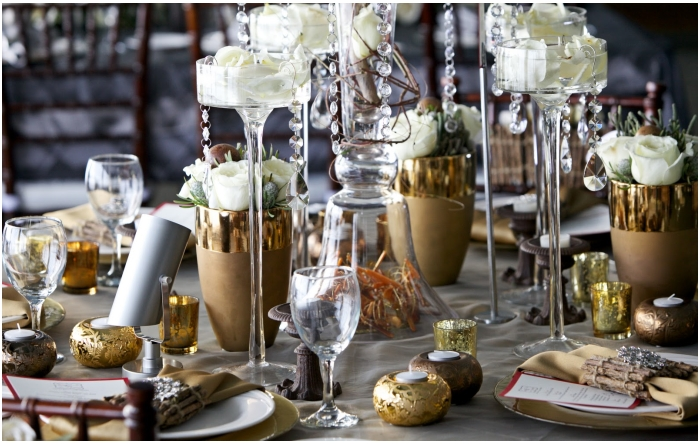 Bronze Age Metallic Wedding Inspiration Weddingsonline