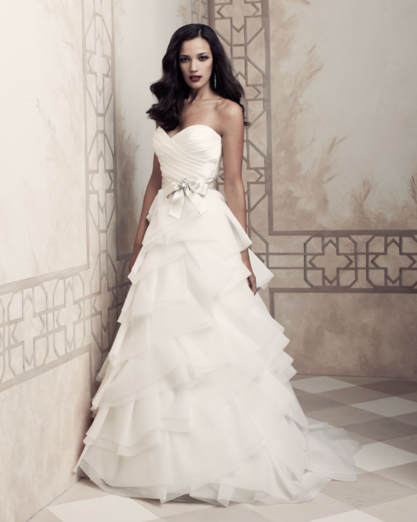 The Bridal Collection Real Bride: Paloma Blanca 2013 Premier Collection