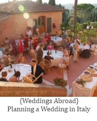 planning a wedding in italy