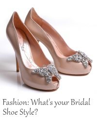 shoe style bridal shoes