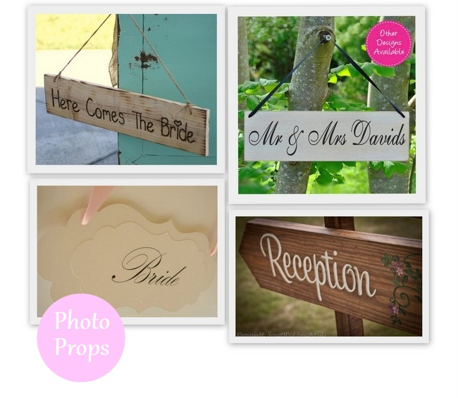wedding just married signs