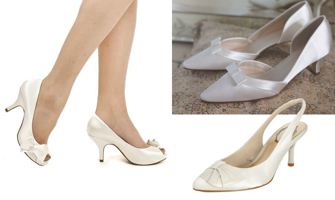 Kitten Heels For Brides