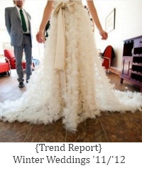 winter wedding trend report
