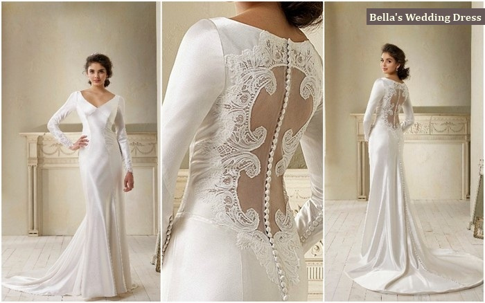 Twilight Wedding Dress Replica Out Now! | weddingsonline