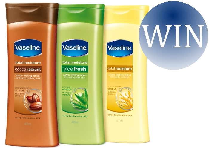 vaseline essential moisturiser collection
