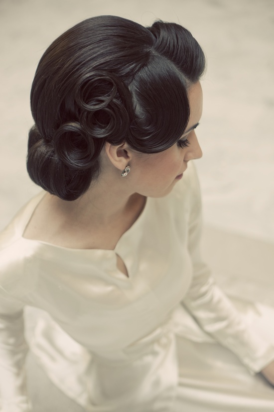 Vintage Wedding Hair Styles Inspiration For A Ss - Wedding hairstyle upstyle