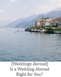 wedding abroad right for you