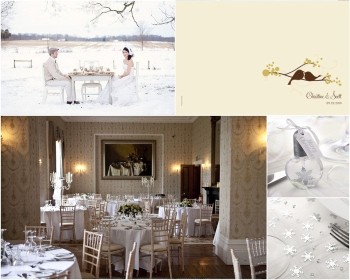 winter inspiration ireland wedding