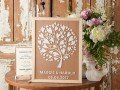 Wedding Wooden Alternative Guest Book - 4lovepolkadots