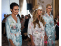 Mint and Coral Personalised Bridal Robes | WowWee.ie