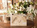 Wedding Wooden Birch Bark Guest Book - 4lovepolkadots