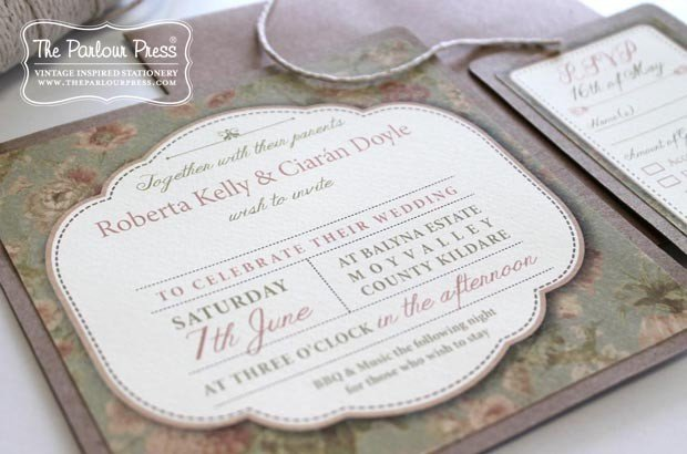 Wedding Invitations - Mass Booklets - Table Plan Designs | The Parlour Press Wedding Stationery