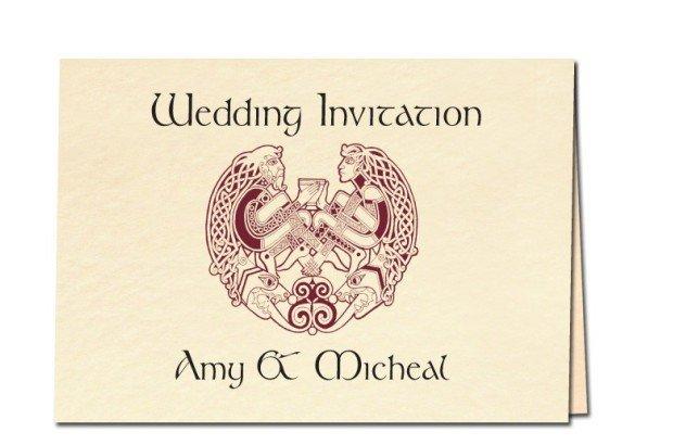 Previous Celtic Wedding Invitation